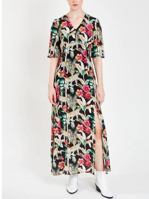 BEATRICE LEOPARD DRESS