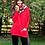 Thumbnail: ANNA POLO NECK JUMPER - RED