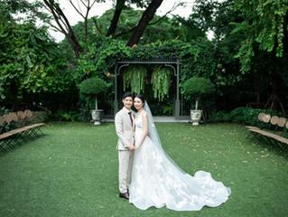 Wedding day at The botanical house