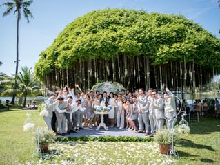 Thai Traditional Wedding Ceremony | Sam Pran Riverside