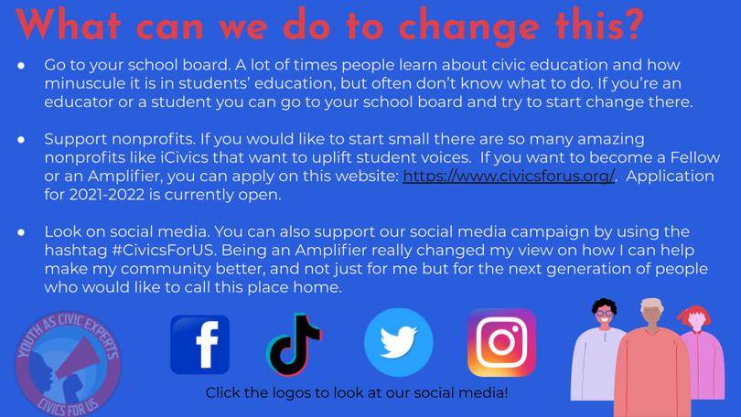 #CivicsForUS Student Project - Connecticut