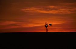 moinho sunset