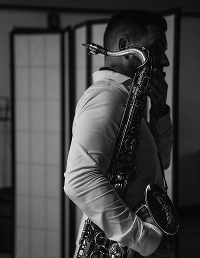 saxophone, man, playing, music, jazz, handsome, teacher, lesson