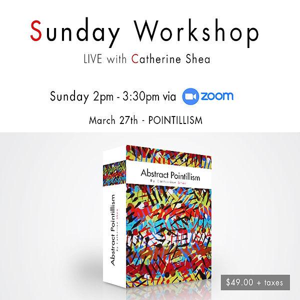 Sunday Workshop_March 27th - POINTILLISM