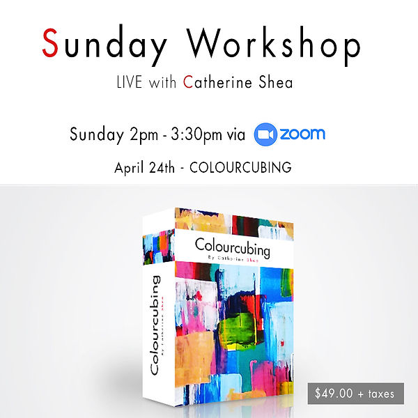 Sunday Workshop_April 24th - COLOURCUBIN