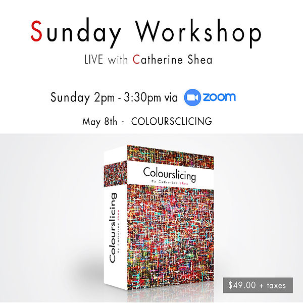 Sunday Workshop_May 8th -  COLOURSCLICIN