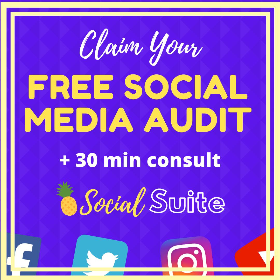 Aquamarine Pattern Social Media Day Soci
