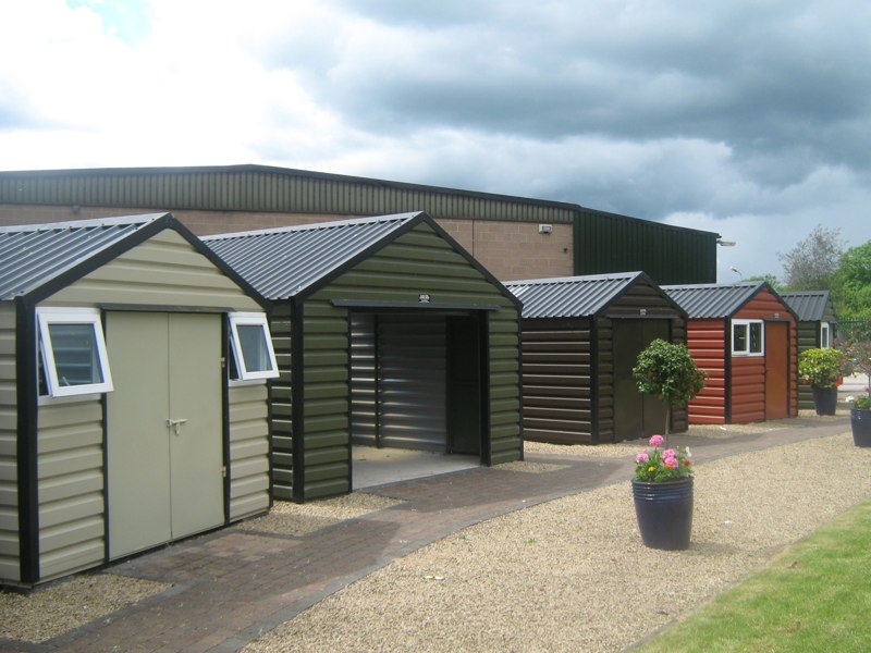 Sheds in show yard 001