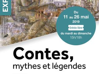 Contes, mythes et légendes, par les ateliers de peinture du Carré des Arts