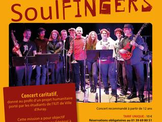 Concert caritatif des SoulFingers
