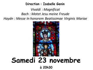 Concert Chœur de Chambre Clodoald...