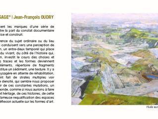 "VERNISSAGE EXPOSITION ""PAYSAGE""  Jean-François OUDRY"