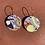 Thumbnail: Shapes of Grey Medium Disc Earrings