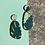 Thumbnail: Tropical Leaf Drop Earrings
