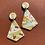 Thumbnail: Sea & Sand Diamond Drop Earrings
