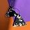 Thumbnail: Monochrome Abstract Triangle Earrings