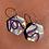 Thumbnail: Shapes of Grey Hexagon Earrings