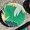 Thumbnail: Tropical Leaf Disc Brooch