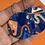 Thumbnail: Festival in Blue Disc Earrings