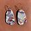 Thumbnail: Shapes of Grey Medium Teardrop Earrings