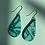 Thumbnail: Turquoise Medium Drop Earrings