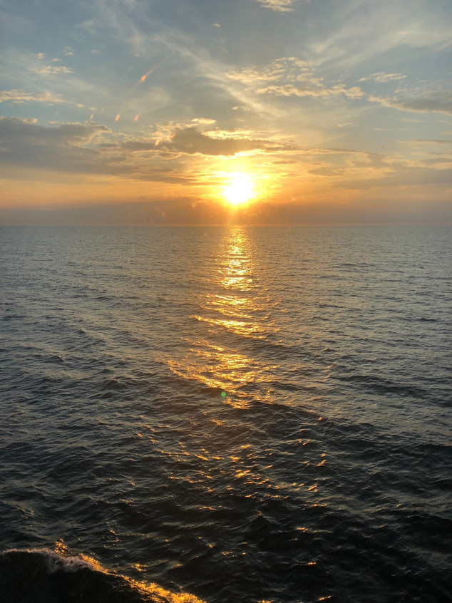 endless sea, stunning sunsets