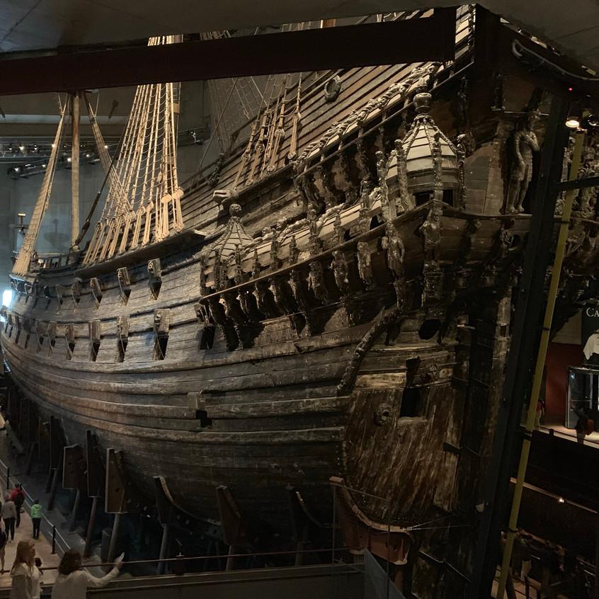 visiting Vasa museum
