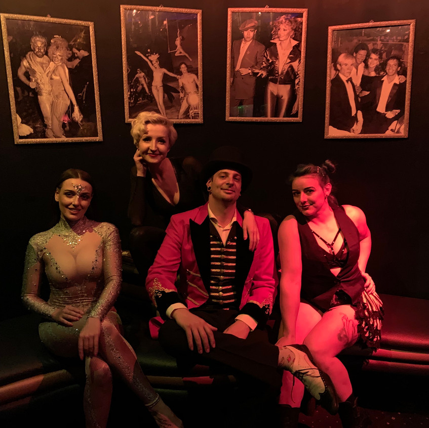Ringmaster and the girls
