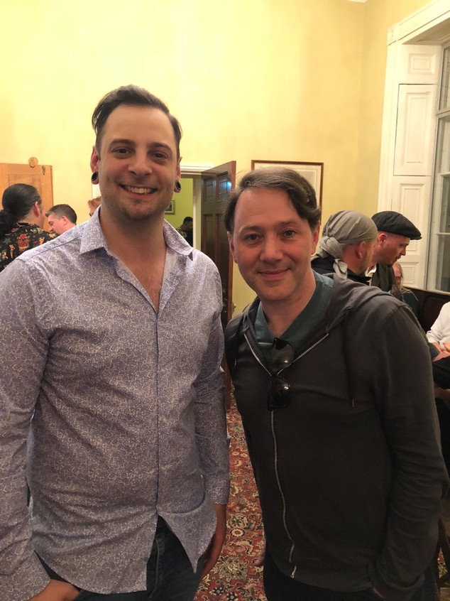 Johnny met Reece Shearsmith