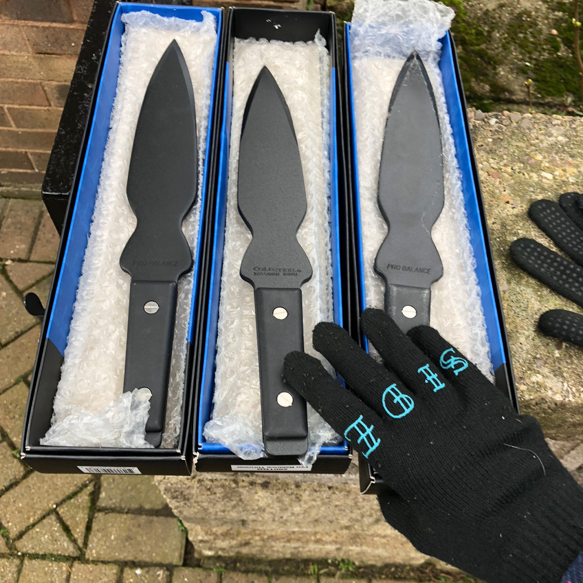 new knives... cold steel