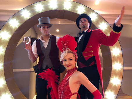January- The Greatest Showman Theme continues...