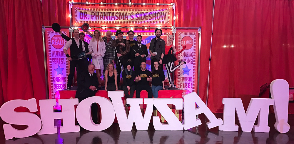Cast & crew of Showzam 2017!