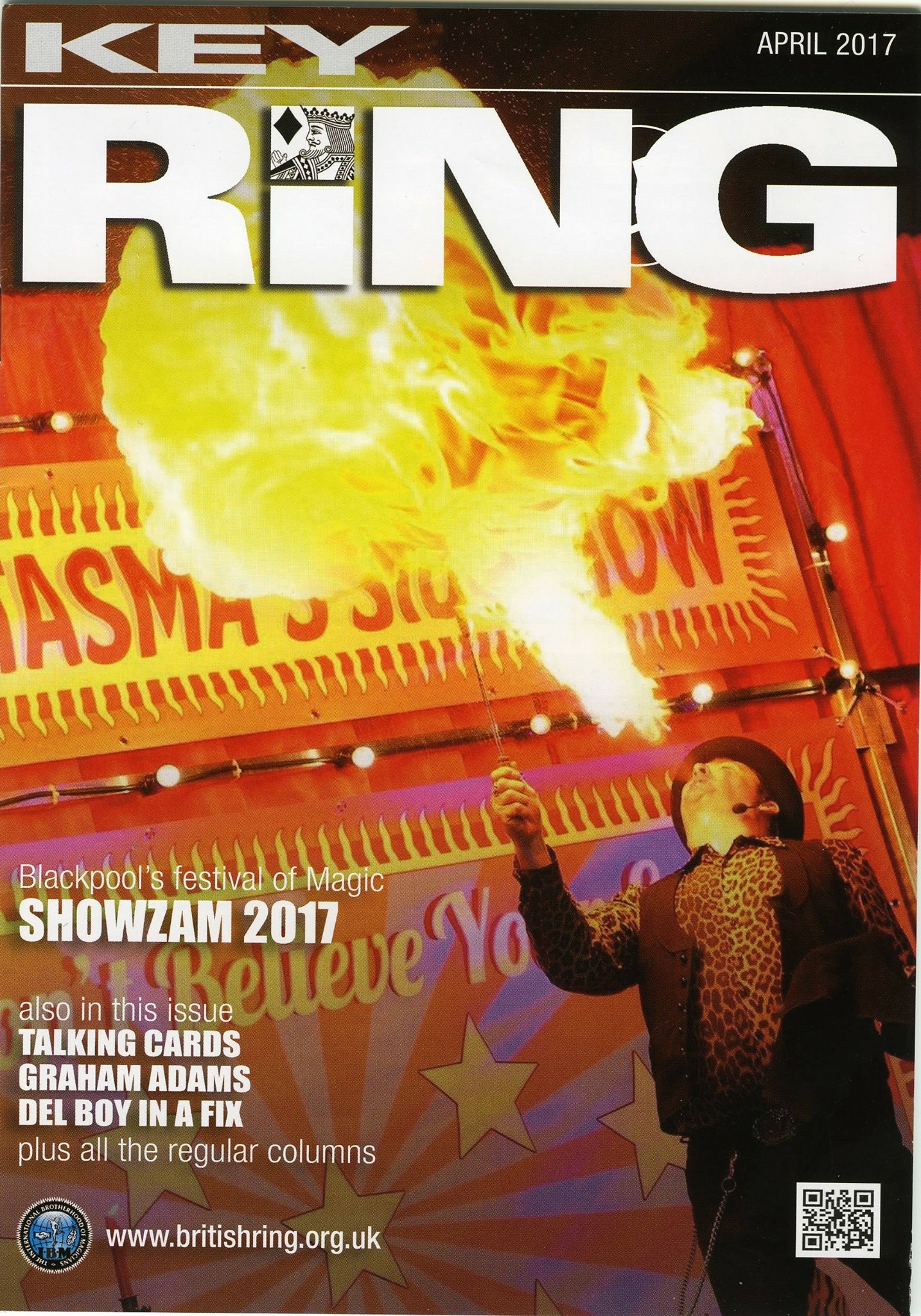 Cover of the Key Ring Magazine