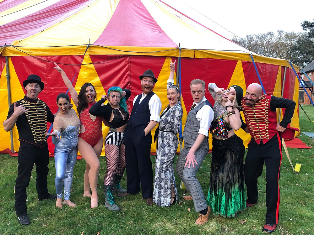 Our awesome team of performers