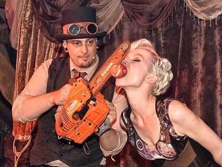 The Steampunk Circus goes to Scandinavia
