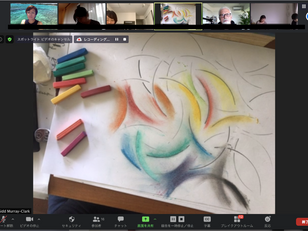 2020/12/28〜 Online Painting Session with Sidd Painting with Your Own Resources