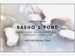 2021/5/22&23 Painting Workshop 'BASHO'S POND '– 芭蕉の池 – with Sidd