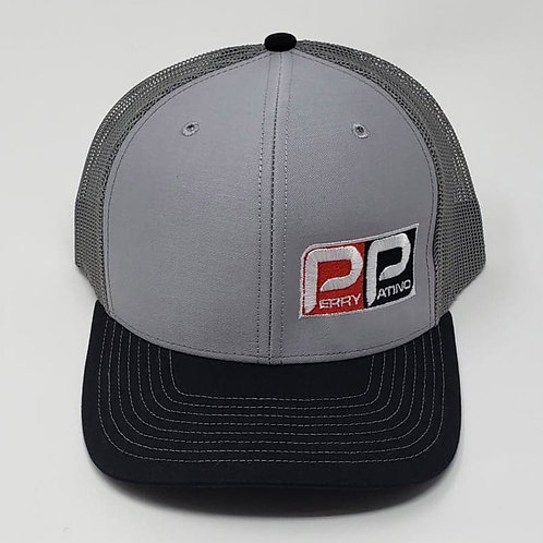 Perry Patino Snapback Hat - Tri-Color Grey