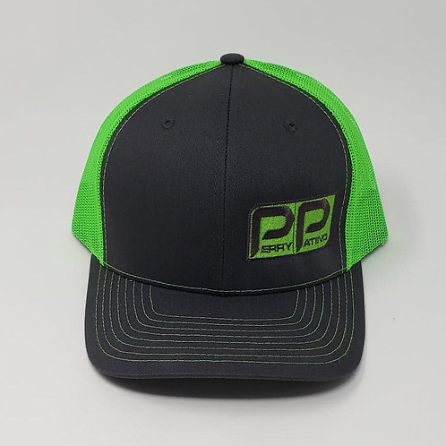 Perry Patino Snapback Hat - Green