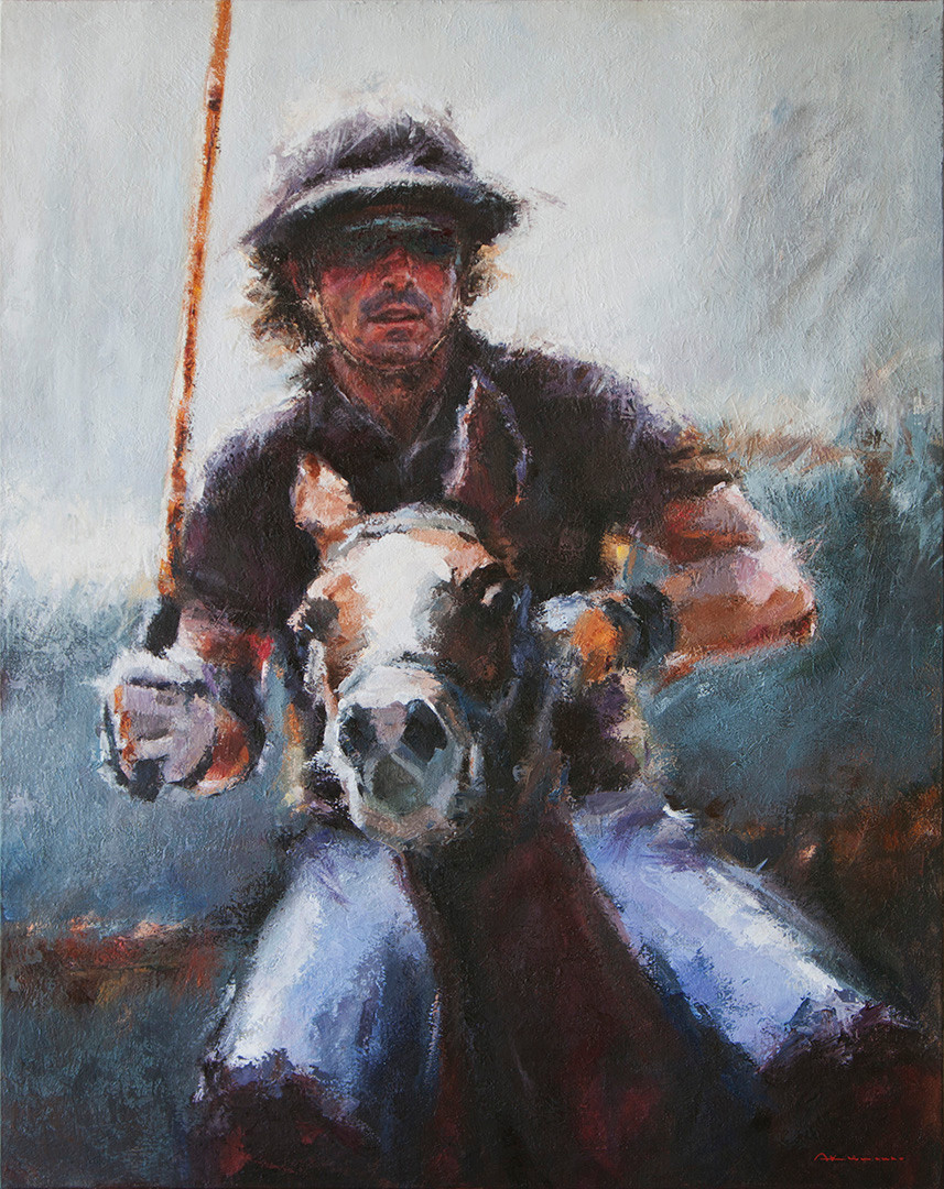 POLO. THE PERFECT MATCH. 92x73 cm