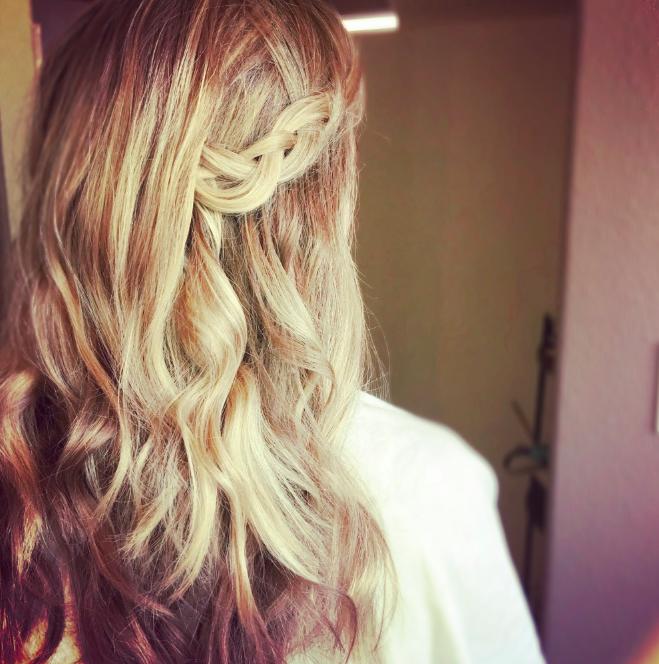 The Luna Loft Bridal Wedding Hair