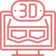 3D Glasses Logo