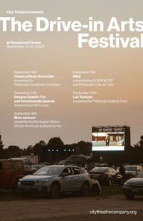drive-in arts festival poster