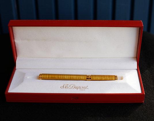 St. Dupont Gold Leaf Ball Pen