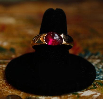 Pomellato 18K Cabochon Gold Ring