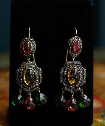 14K Silver Earrings