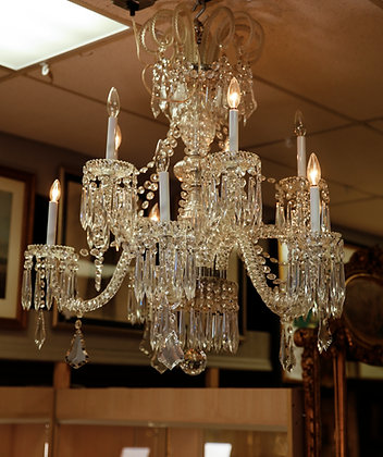 Large Crystal Chandelier Baccara Style