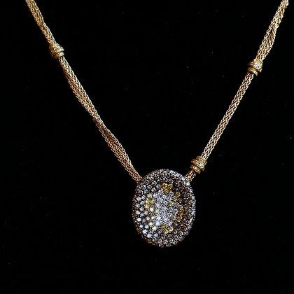 Valente Milano 18K  necklace with Diamonds
