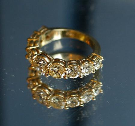 4 ½ Rose Cut Ant. Diamond Ring