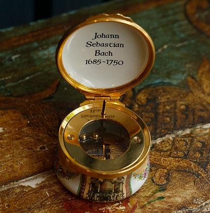 Halcyon Days Musical Box, Johann Sebastian Bach